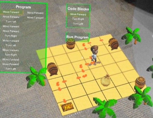 Augmenting Coding: AR for Learning Programming